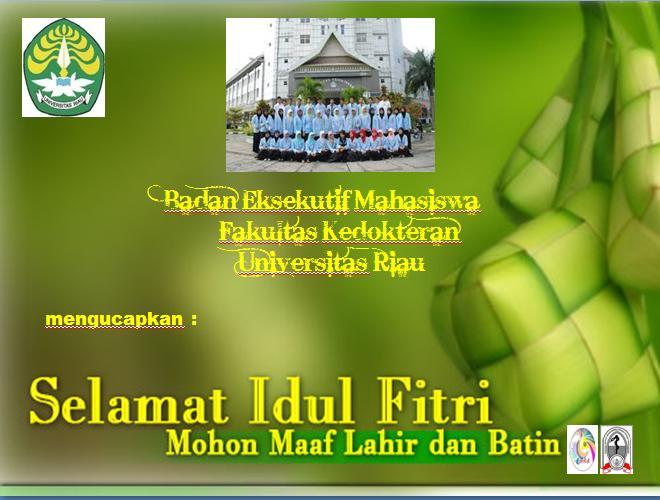 Mohon Maaf Lahir Batin..